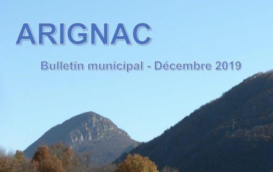 Bulletin municipal de Décembre 2019