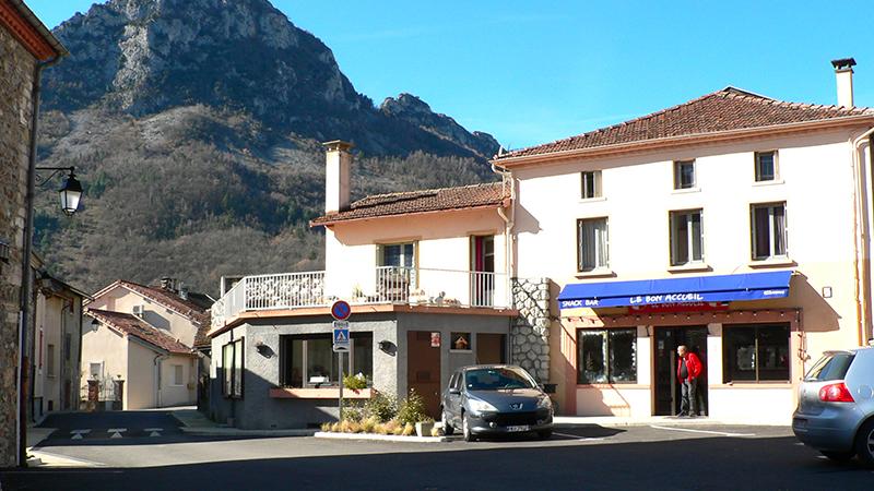 Image de la devanture de l'établissement LE BON ACCUEIL - Café à Arignac