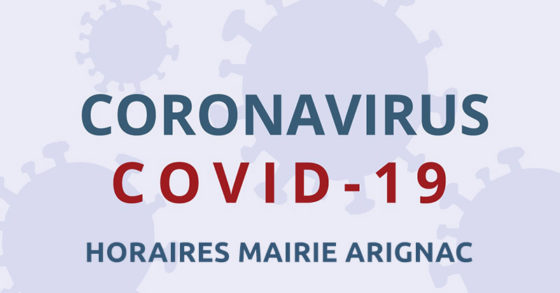 COVID19 – Secrétariat de Mairie