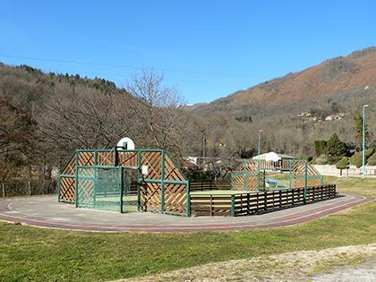 Le city espace enfant - Commune d'Arignac Ariège (09)