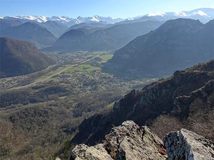 La montagne - Commune d'Arignac Ariège (09)
