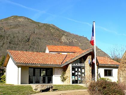 La mairie - Commune d'Arignac Ariège (09)