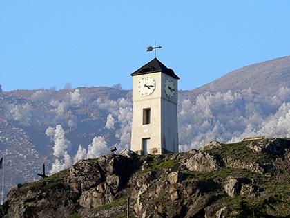 Clocher du Castella - Commune d'Arignac Ariège (09)