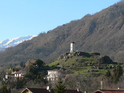 Clocher - Commune d'Arignac Ariège (09)