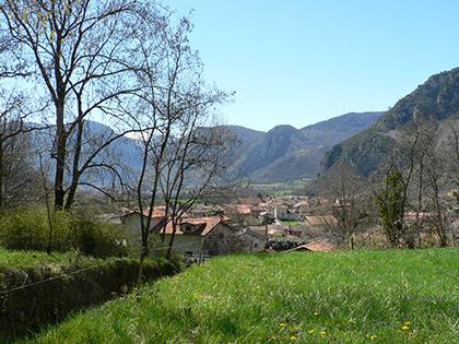 Paysage - Commune d'Arignac Ariège (09)