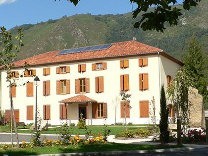 Centre du village - Commune d'Arignac Ariège (09)