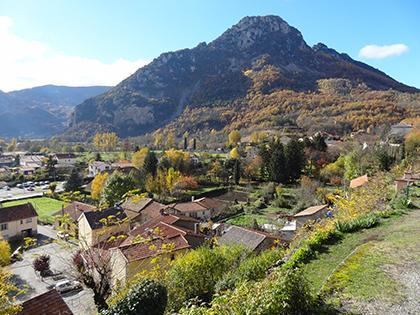 Panorama - Commune d'Arignac Ariège (09)