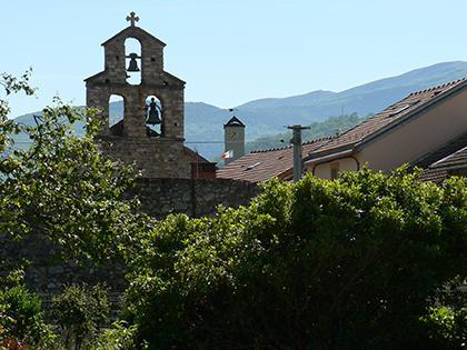Le clocher - Commune d'Arignac Ariège (09)