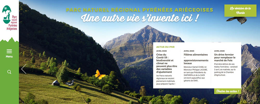 Le parc naturel régional des PYrénées Ariégeoises