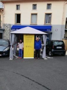 point poste café Arignac juillet 2017